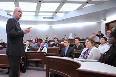 Michael C Jensen - Sands Leadership Lecture